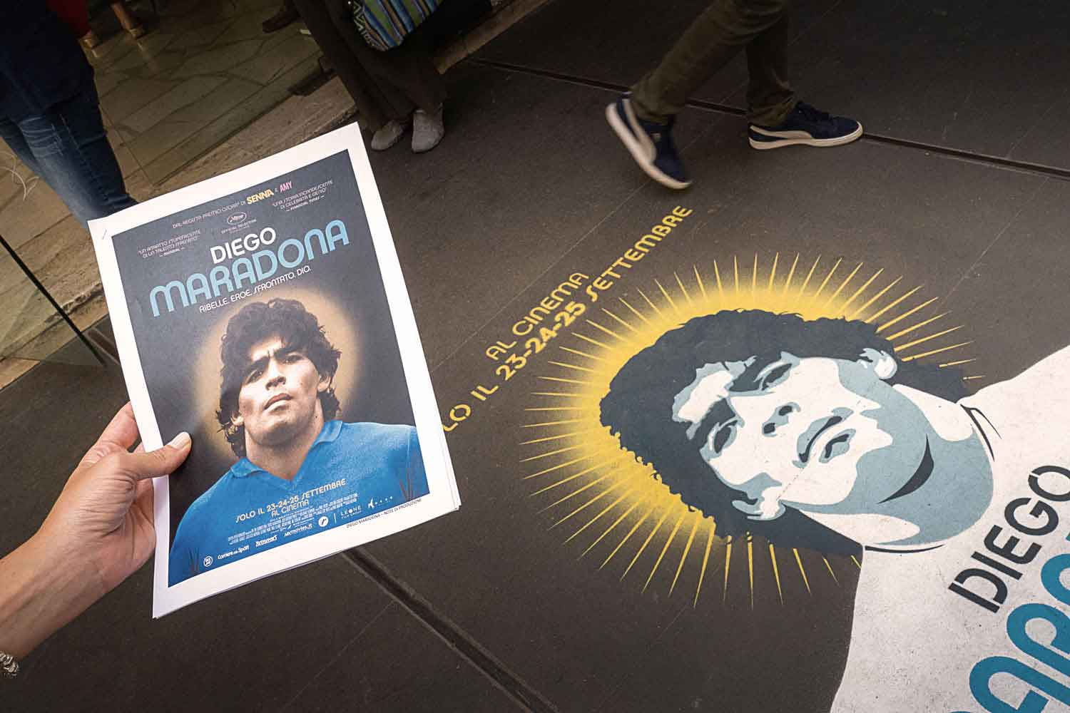 unconventional marketing nexo maradona