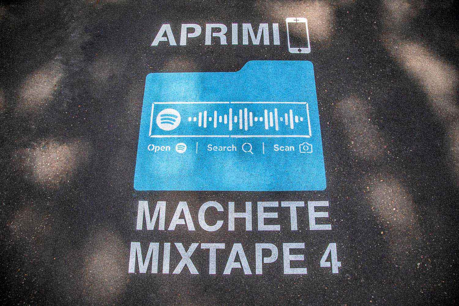 unconventional marketing sony music machete mixtape