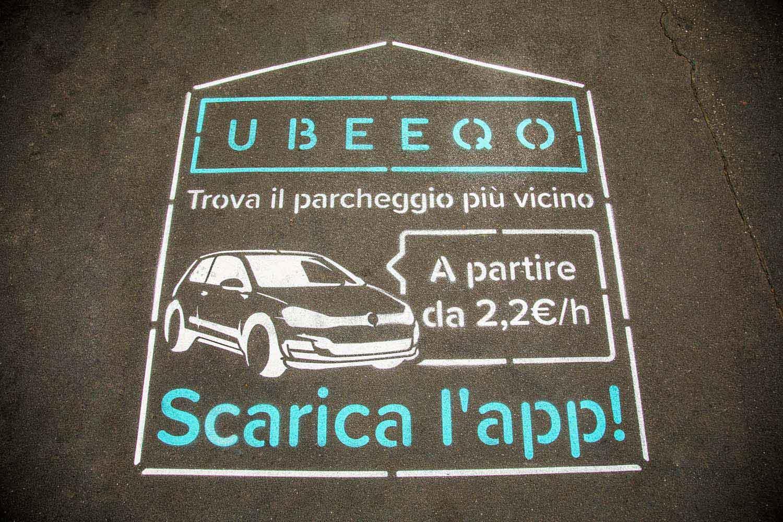 pubblicità outdoor ubeeqo