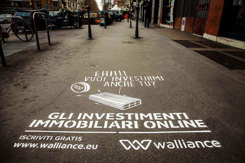 campagna pubblicitaria walliance