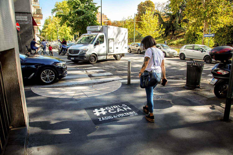 green graffiti adv zadig voltaire