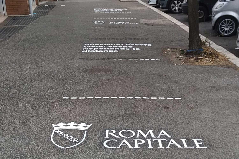 campagna pubblicitaria comune di roma
