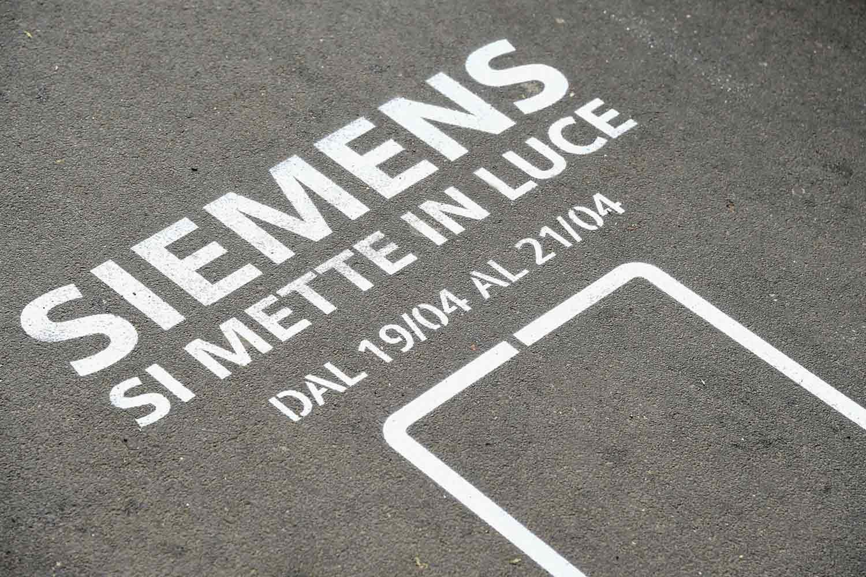 street advertising siemens