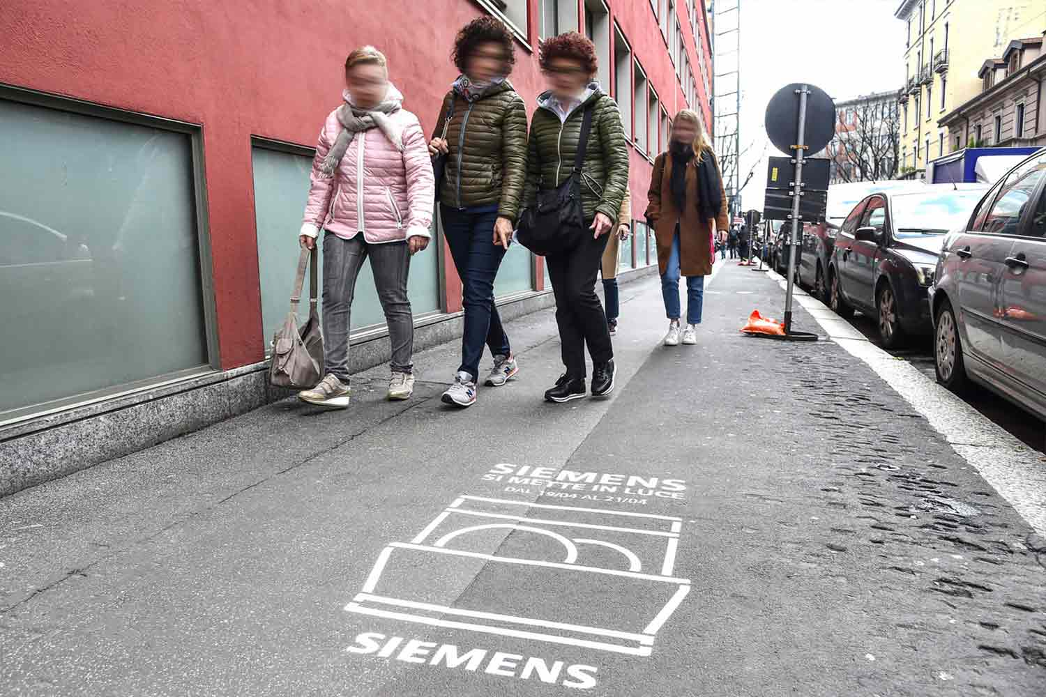 ambient marketing siemens