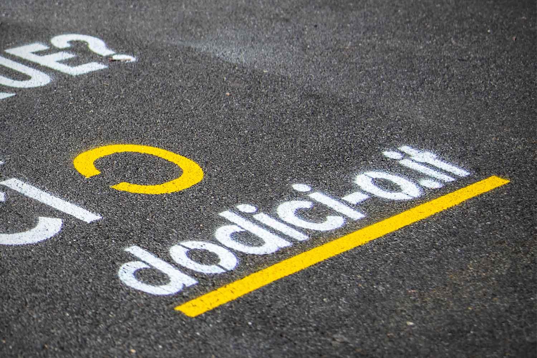 graffiti pubblicitari dodici o