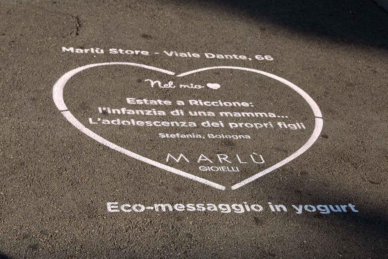 street marketing gioielli marlù