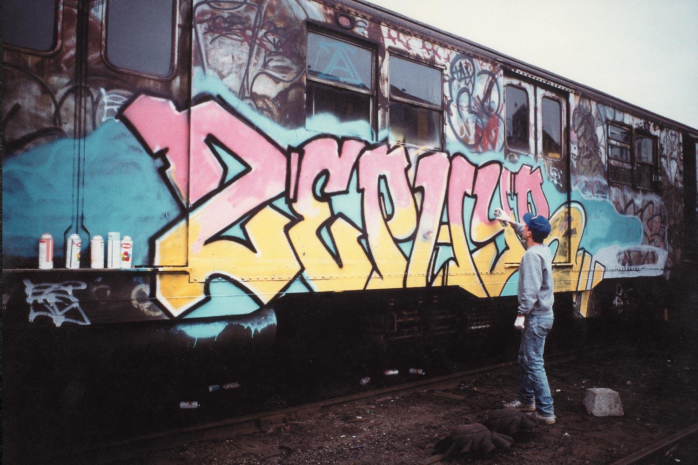 street graffiti zephyr