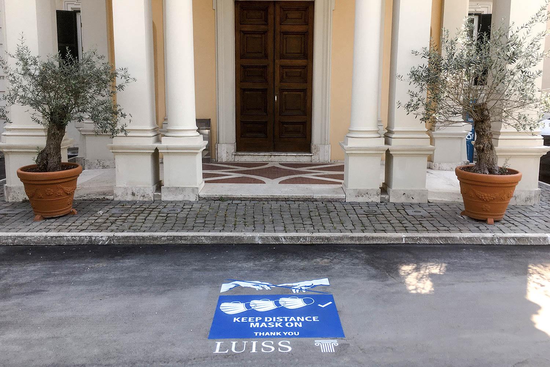 campagna pubblicitaria luiss roma