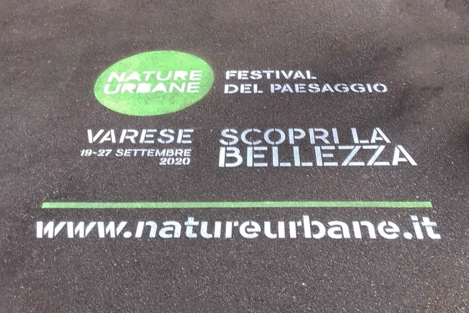 street marketing comune di varese nature urbane