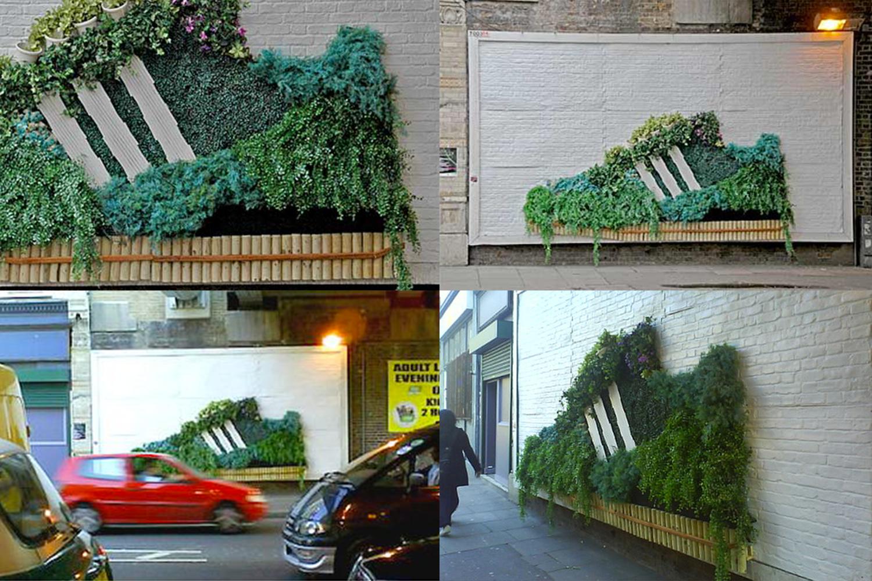 Adidas Guerrilla Gardening