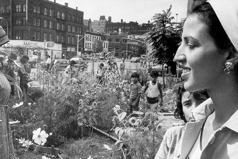 Guerrilla Gardening Liz Christy