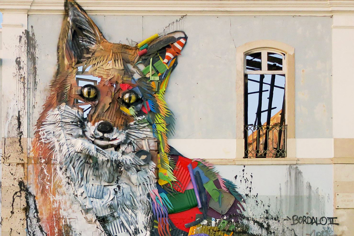 Trash Art Bordalo II