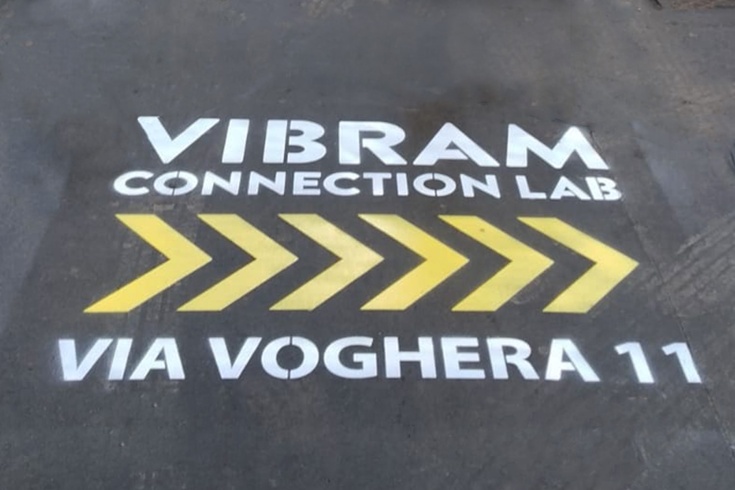street marketing vibram