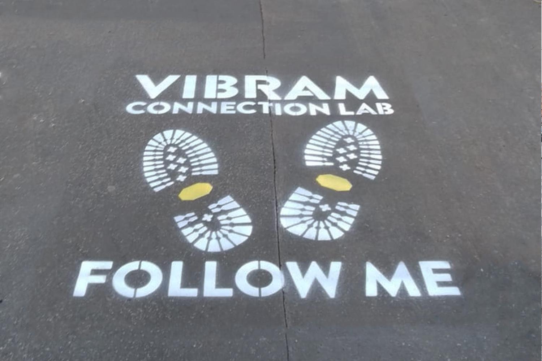 ambient marketing vibram