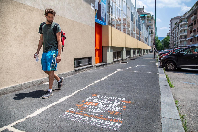 campagna pubblicitaria scuola holden