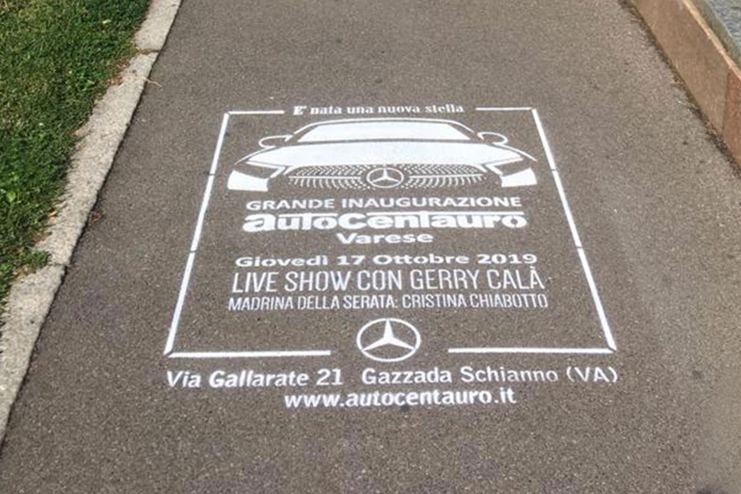 ambient marketing auto centauro