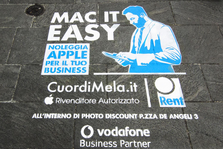 pubblicità outdoor cuordimela