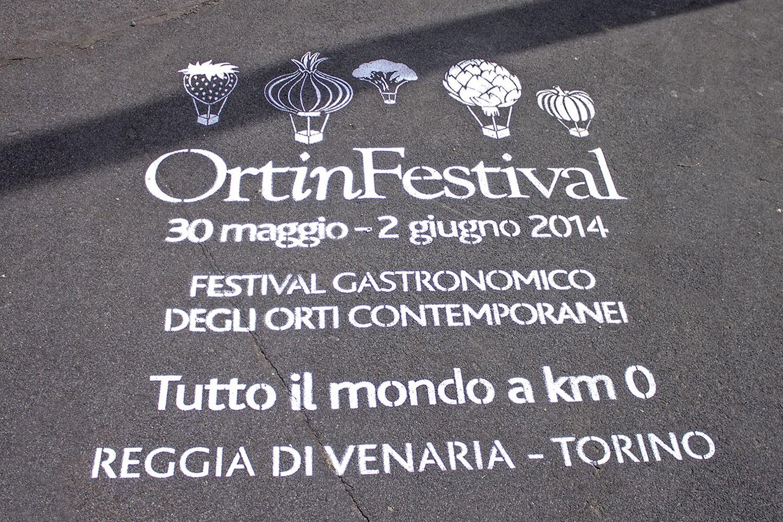pubblicità outdoor reggia di venaria ortinfestival