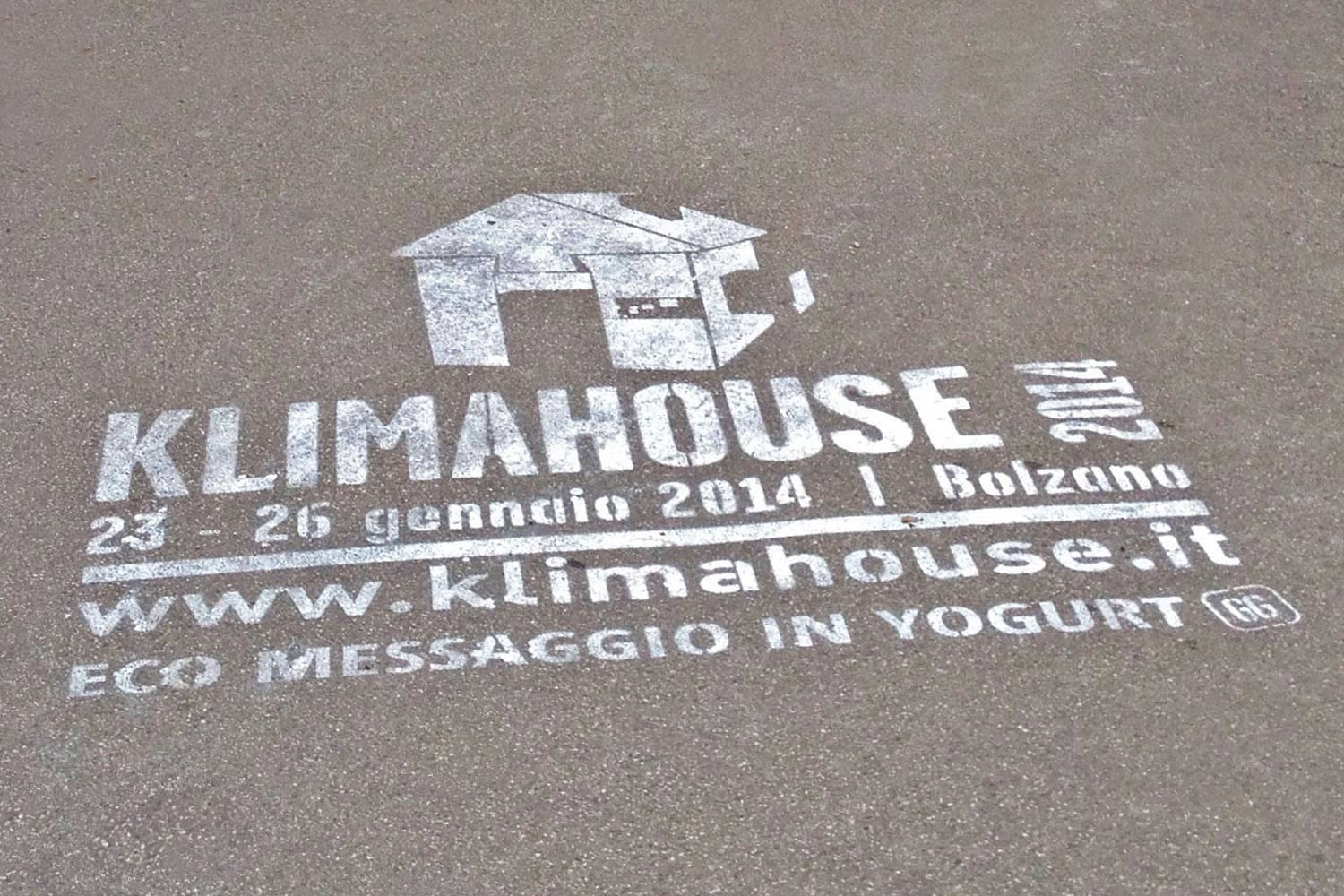 outdoor advertising fiera di bolzano klimahouse
