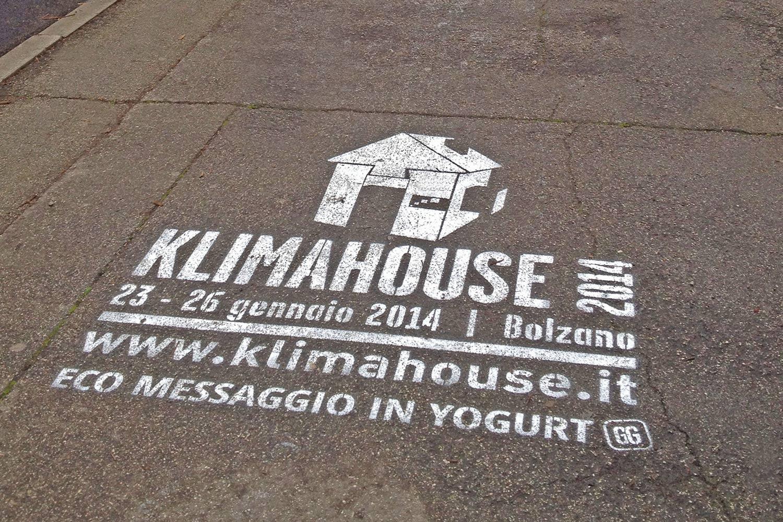 graffiti pubblicitari fiera di bolzano klimahouse