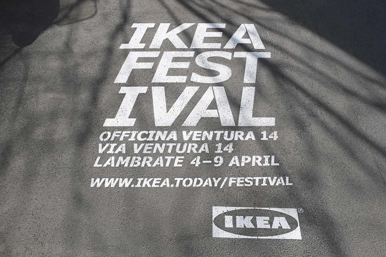 campagna pubblicitaria ikea festival