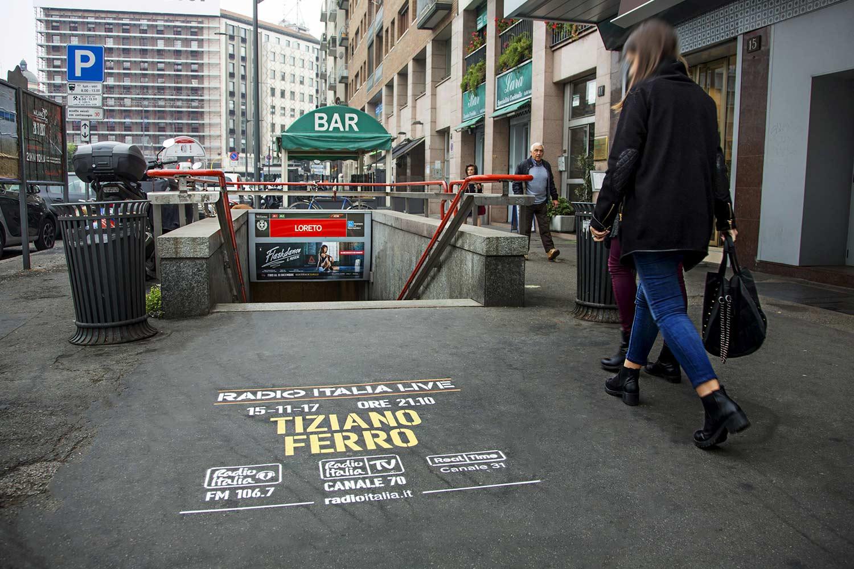green graffiti radio italia tiziano ferro