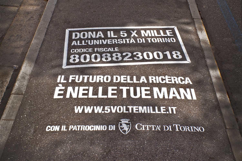 graffiti pubblicitari fondazione crt
