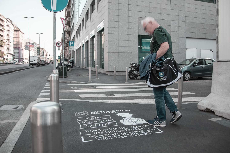 campagna pubblicitaria centro auxologico