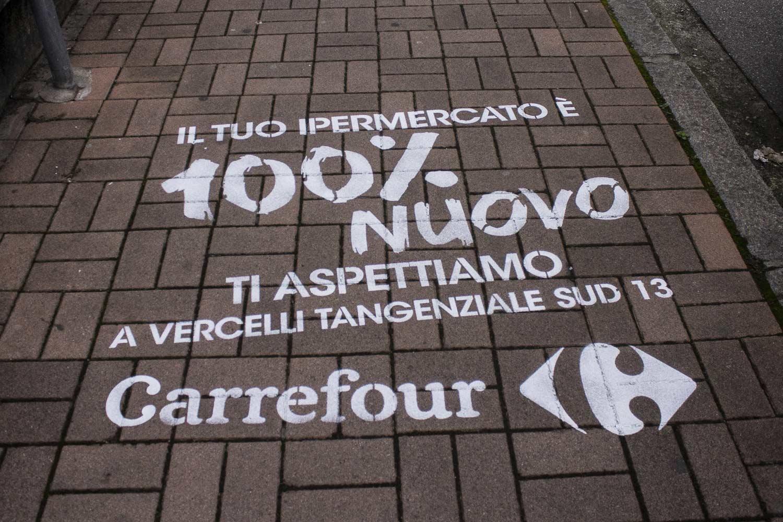 campagna pubblicitaria ipermercati carrefour