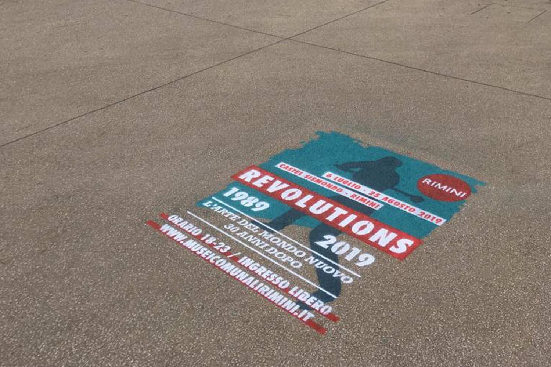 campagna pubblicitaria comune di rimini revolutions