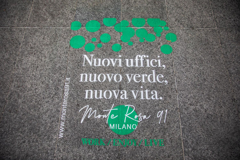 green graffiti monte rosa 91