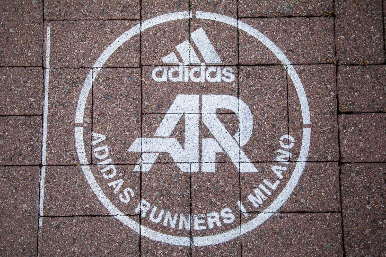 street advertising adidas polimi