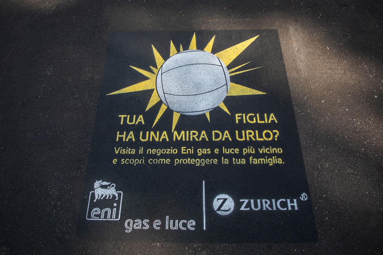 campagna pubblicitaria eni gas luce