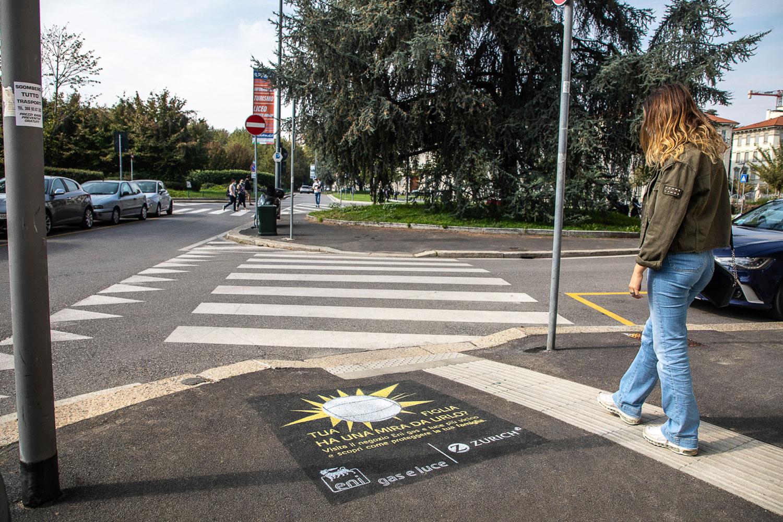 graffiti pubblicitari eni gas luce