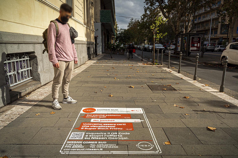 street advertising ComerSud