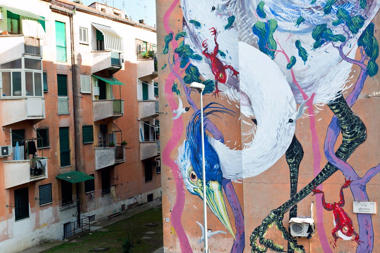 Italian Graffiti - San Basilio