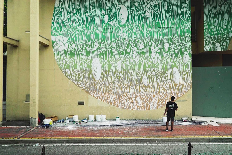 Ikea earth tellas murales
