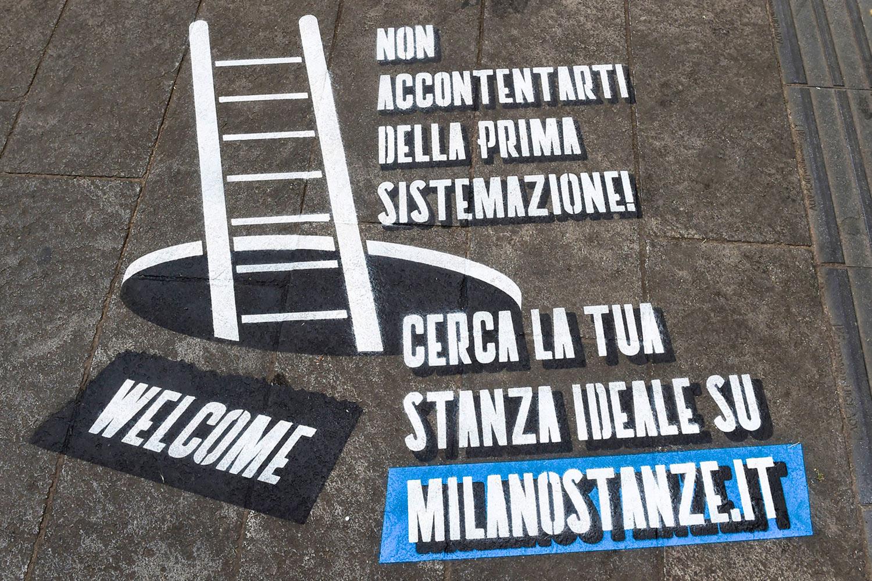 Milano Stanze GreenGraffiti