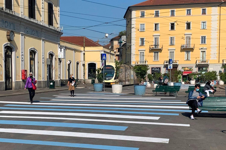 Porta Genova urbanismo tattico