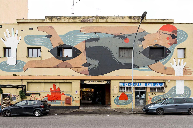 Italian Graffiti - Ostiense