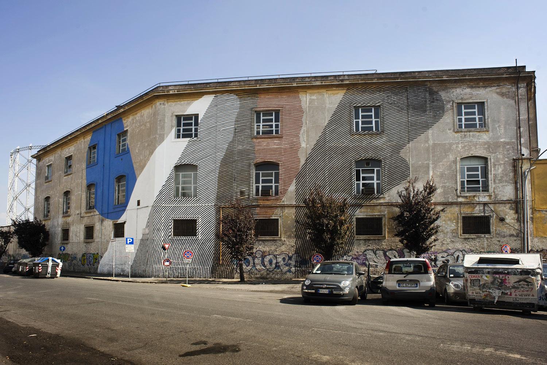 Momo street art roma ostiense