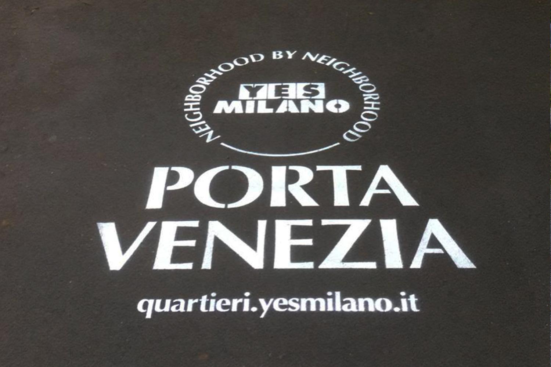 campagna pubblicitaria comune di milano porta venezia