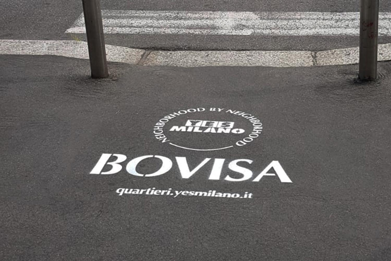 street marketing bovisa comune di milano