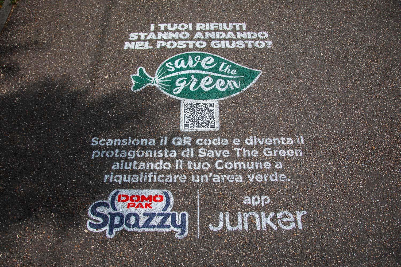 campagna pubblicitaria Domopak Spazzy
