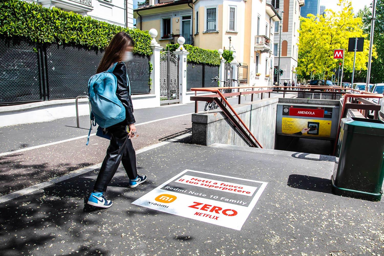 street marketing Xiaomi