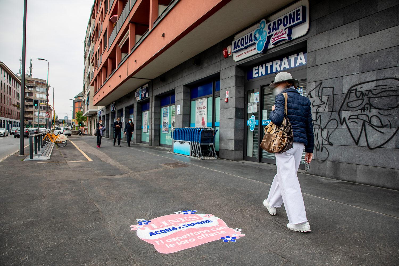 campagna pubblicitaria Acqua & Sapone