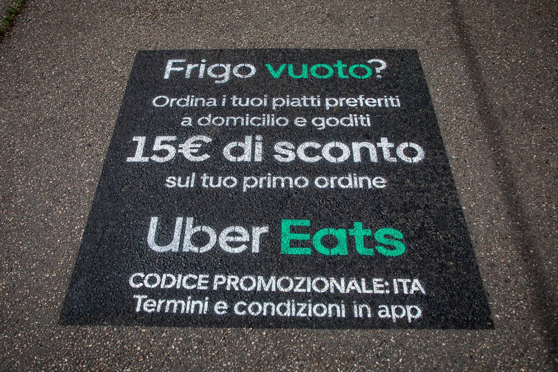 campagna pubblicitaria UberEats