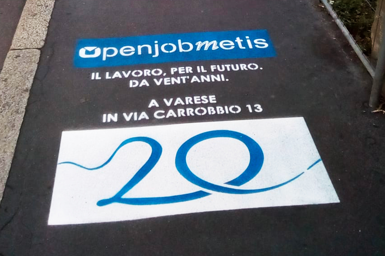 street marketing Openjob Metis
