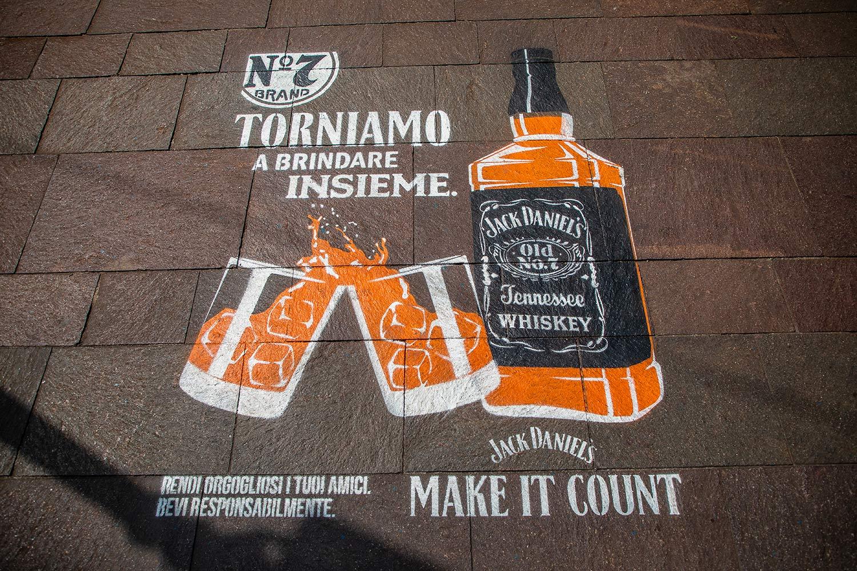 campagna pubblicitaria Jack Daniel's