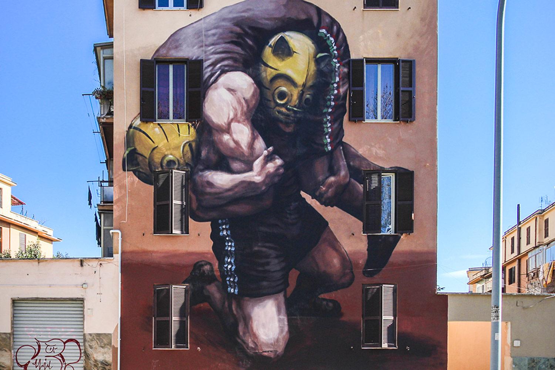 Jaz murales roma